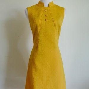 60's Jackie O' mod dress   shift dress